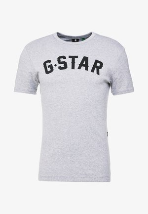 GRAPHIC 16 R T S/S - T-shirt print - grey heather