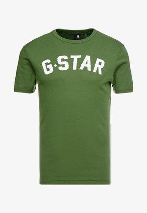 GRAPHIC 16 R T S/S - T-shirt z nadrukiem - kelly green