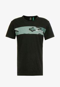 G-Star - RODIS BLOCKO  R T S/S - T-shirt print - dk black - 3