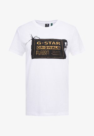 ORIGINALS REGULAR R T S/S - T-shirt z nadrukiem - white