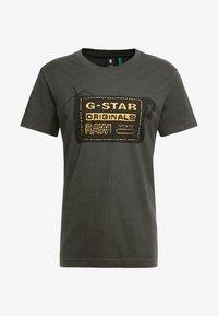 G-Star - ORIGINALS REGULAR R T S/S - Camiseta estampada - raven - 3