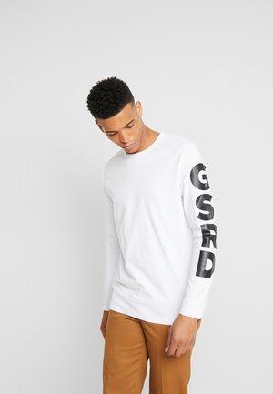 GHASU R T L/S - Långärmad tröja - white
