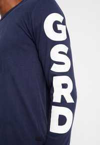 G-Star - GHASU R T L/S - Top sdlouhým rukávem - sartho blue - 5