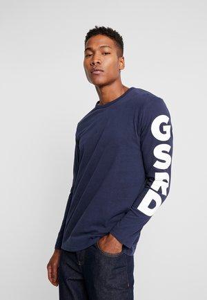 GHASU R T L/S - Long sleeved top - sartho blue