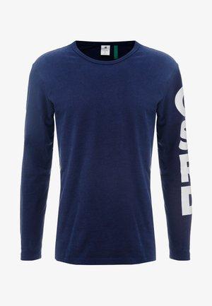 GHASU R T L/S - Langarmshirt - sartho blue