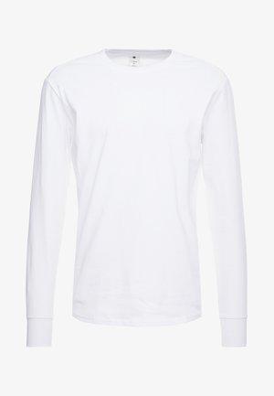 SWANDO LOOSE - Top sdlouhým rukávem - white