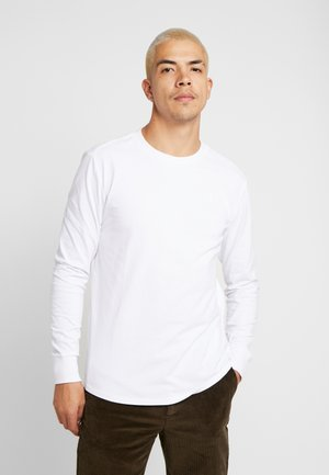 SWANDO LOOSE - Long sleeved top - white
