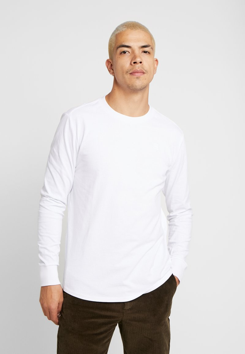 G-Star - SWANDO LOOSE R T L/S - Longsleeve - white