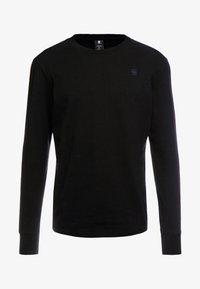 G-Star - SWANDO LOOSE - Långärmad tröja - dk black - 3