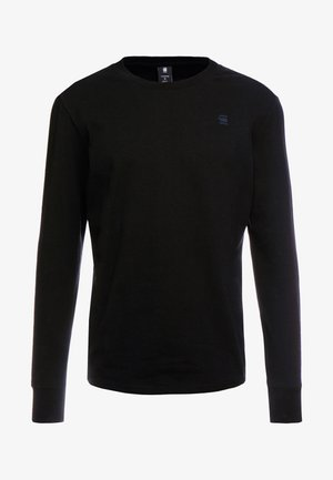 SWANDO LOOSE - T-shirt à manches longues - dk black