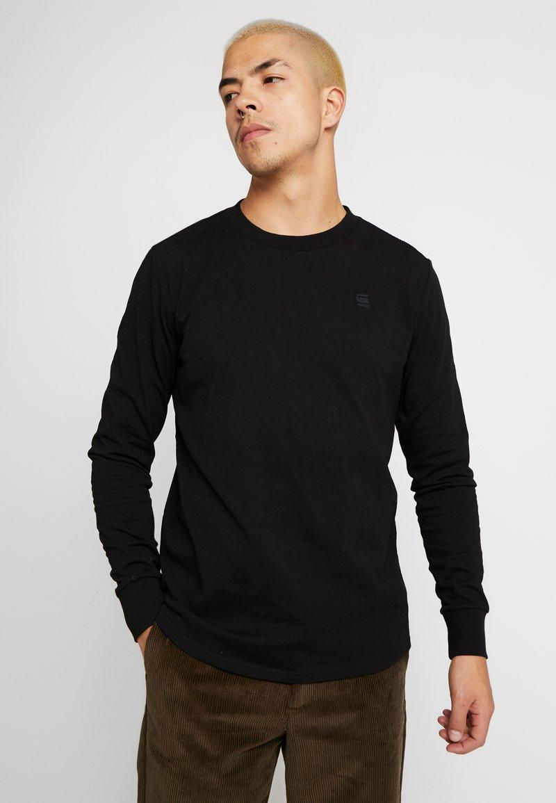 G-Star - SWANDO LOOSE - Långärmad tröja - dk black