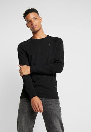 SIPHON MOTAC - Långärmad tröja - dark black