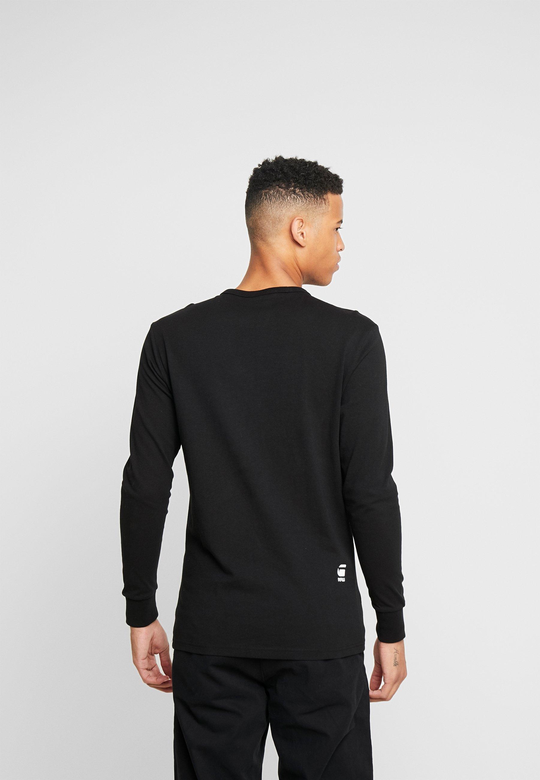 G-Star VILSI R T L/S - Bluzka z długim rękawem - dk black