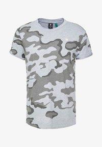 G-Star - SHELO - T-shirt z nadrukiem - grey - 3