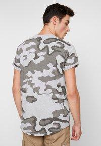 G-Star - SHELO - T-shirt z nadrukiem - grey - 2