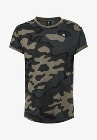 G-Star - SHELO - T-shirt imprimé - black
