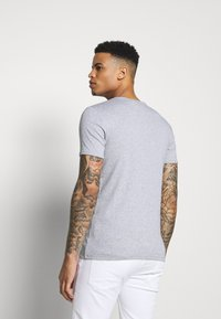 G-Star - BASE R T S/S - Basic T-shirt - grey/white - 2
