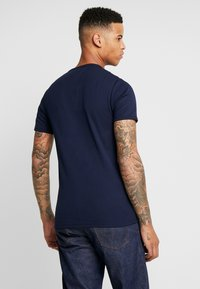 G-Star - 1X1 BASE R T S/S - Basic T-shirt - sartho blue/white - 2