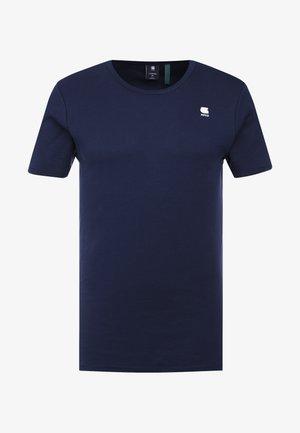 1X1 BASE R T S/S - Basic T-shirt - sartho blue/white