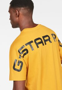 G-Star - KORPAZ - T-shirt print - gold