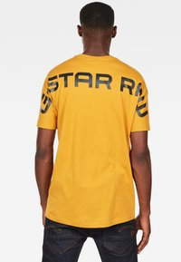 G-Star - KORPAZ - T-shirt print - gold - 1