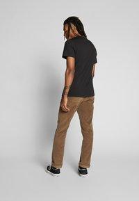 G-Star - BASE-S - T-shirt basic - dark black - 2