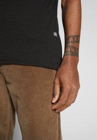 G-Star - BASE-S - T-shirt basic - dark black - 5