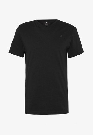 BASE-S - Basic T-shirt - dark black