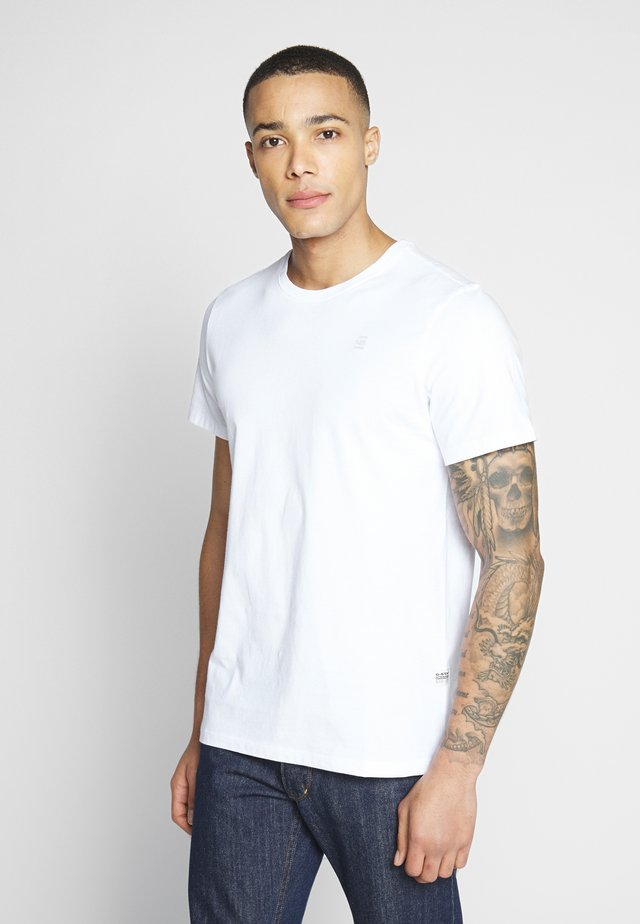 BASE-S - T-shirt - bas - white
