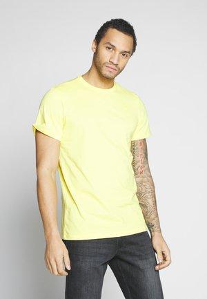 BASE-S - Basic T-shirt - light lemon