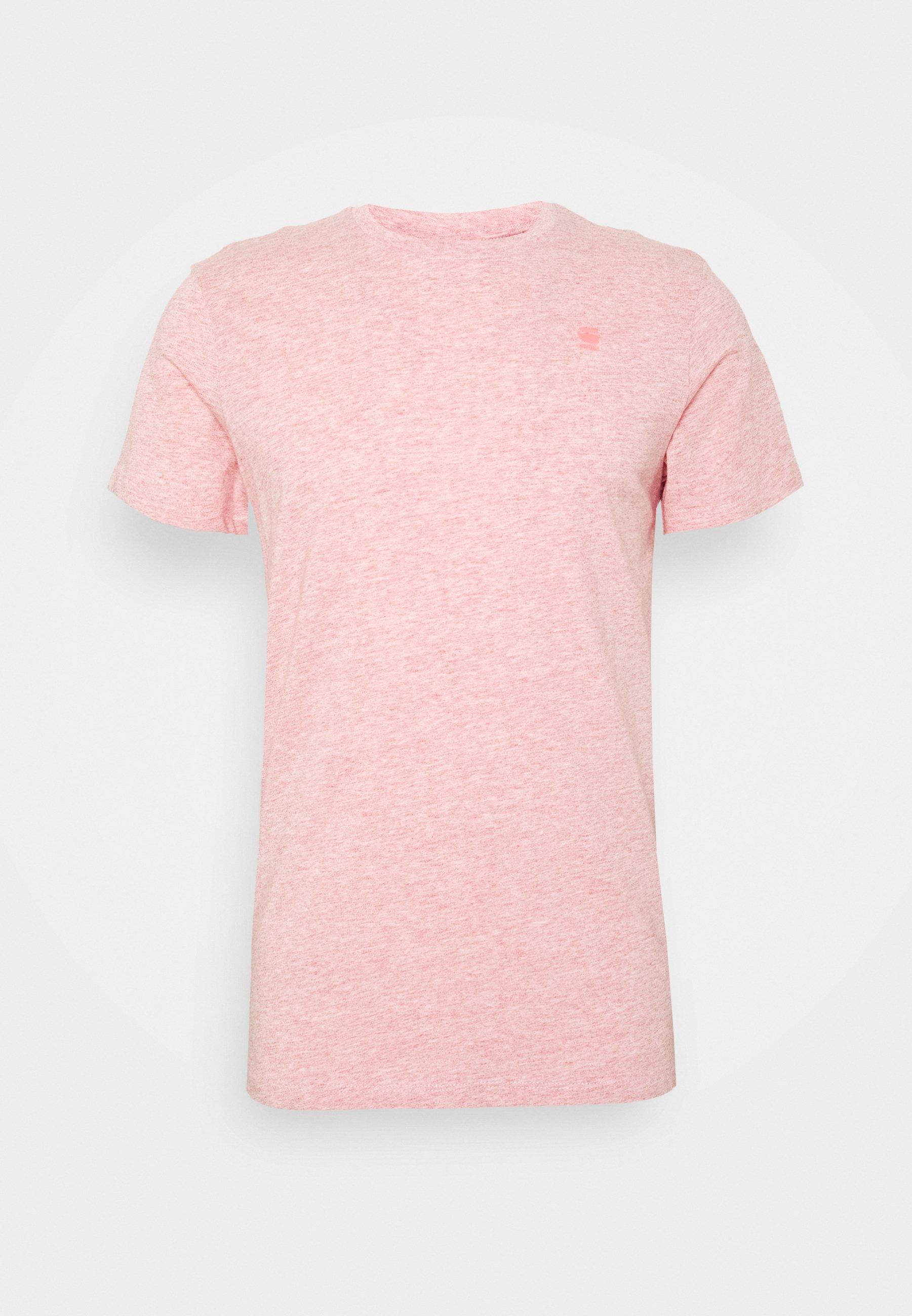 BASE S T shirt basic mottled red