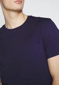 G-Star - BASE-S - Camiseta básica - blue - 5