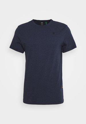 BASE-S - T-shirt basique - sartho blue htr