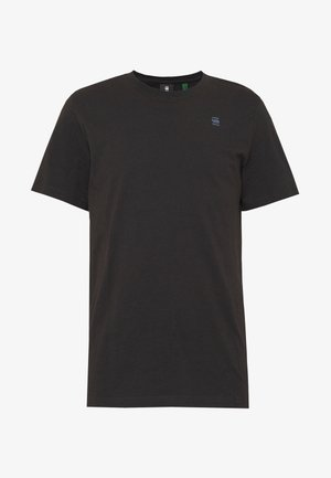 BASE-S R T S\S - Basic T-shirt - black