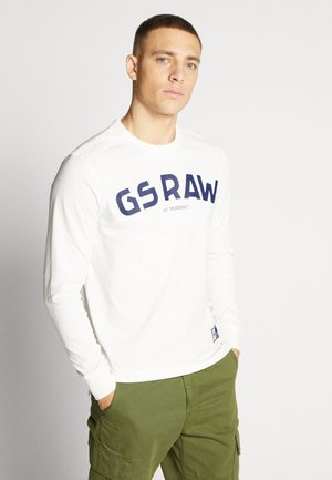 GSRAW GR - Longsleeve - milk