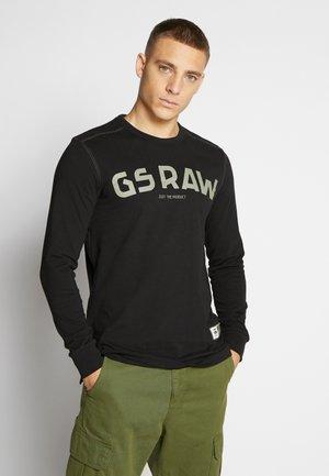 GSRAW GR - Top sdlouhým rukávem - dk black