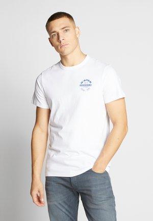 ORIGINALS LOGO GR - T-shirt imprimé - white