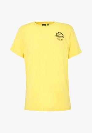 ORIGINALS LOGO GR R T S\S - T-shirt print - lemon