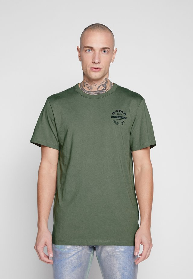 ORIGINALS LOGO GR - Camiseta estampada - shamrock