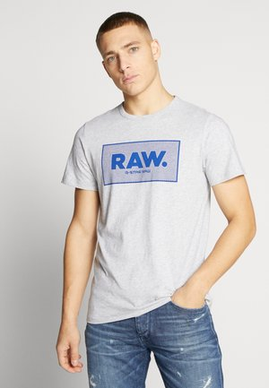 BOXED GR - Camiseta estampada - light grey