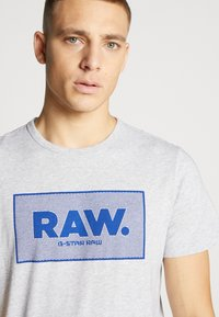 G-Star - BOXED GR - Camiseta estampada - light grey - 5