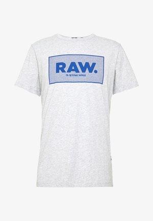 BOXED GR R T S\S - Camiseta estampada - light grey