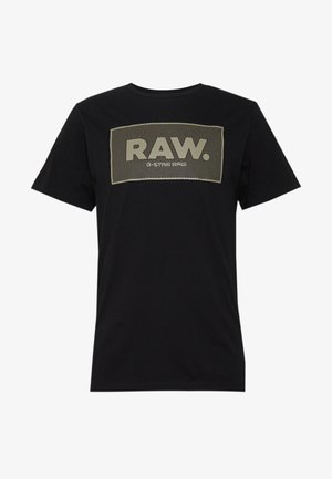 BOXED GR - T-shirt med print - black
