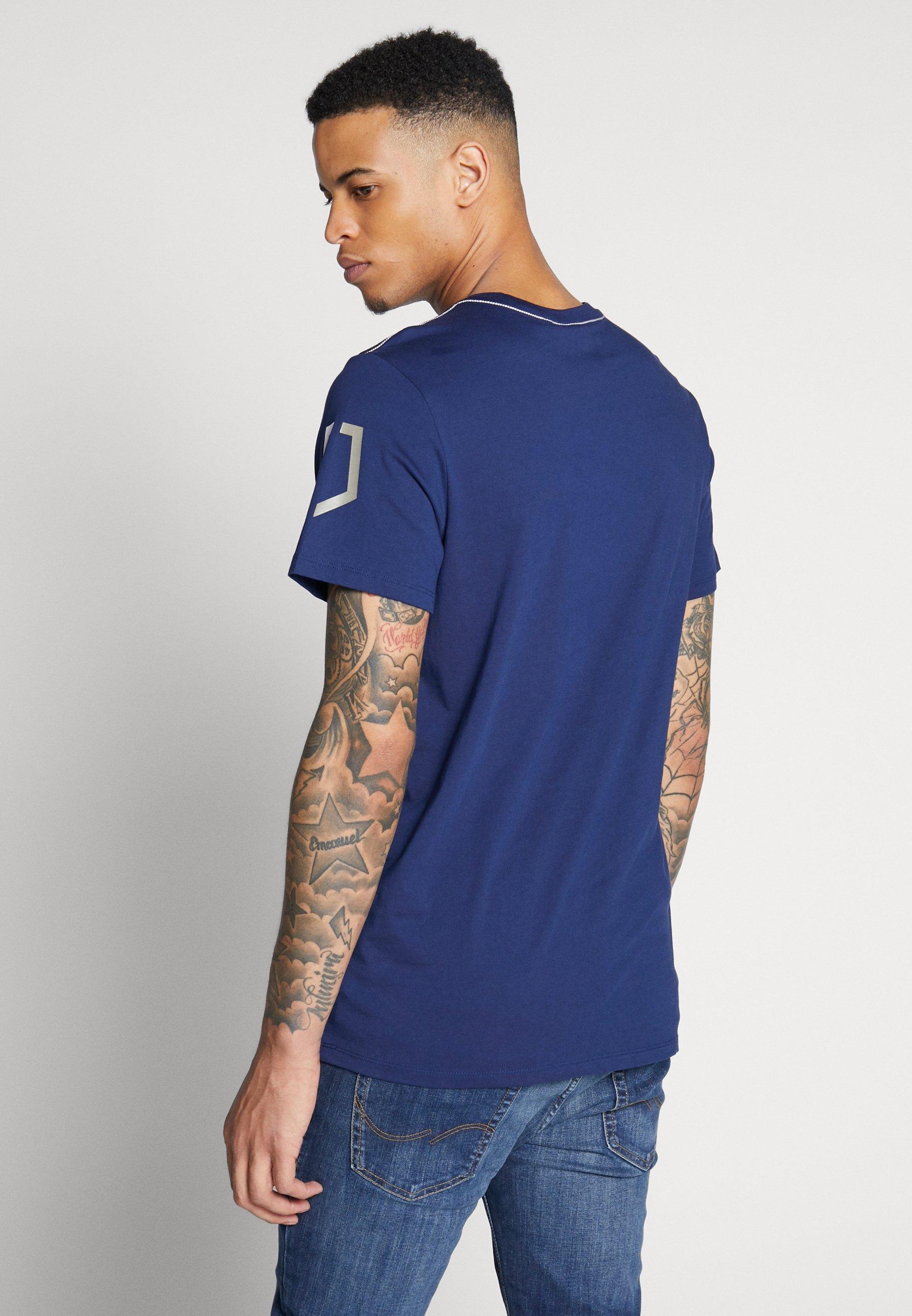 G-star Sleeve Shield - T-shirt Imprimé Imperial Blue