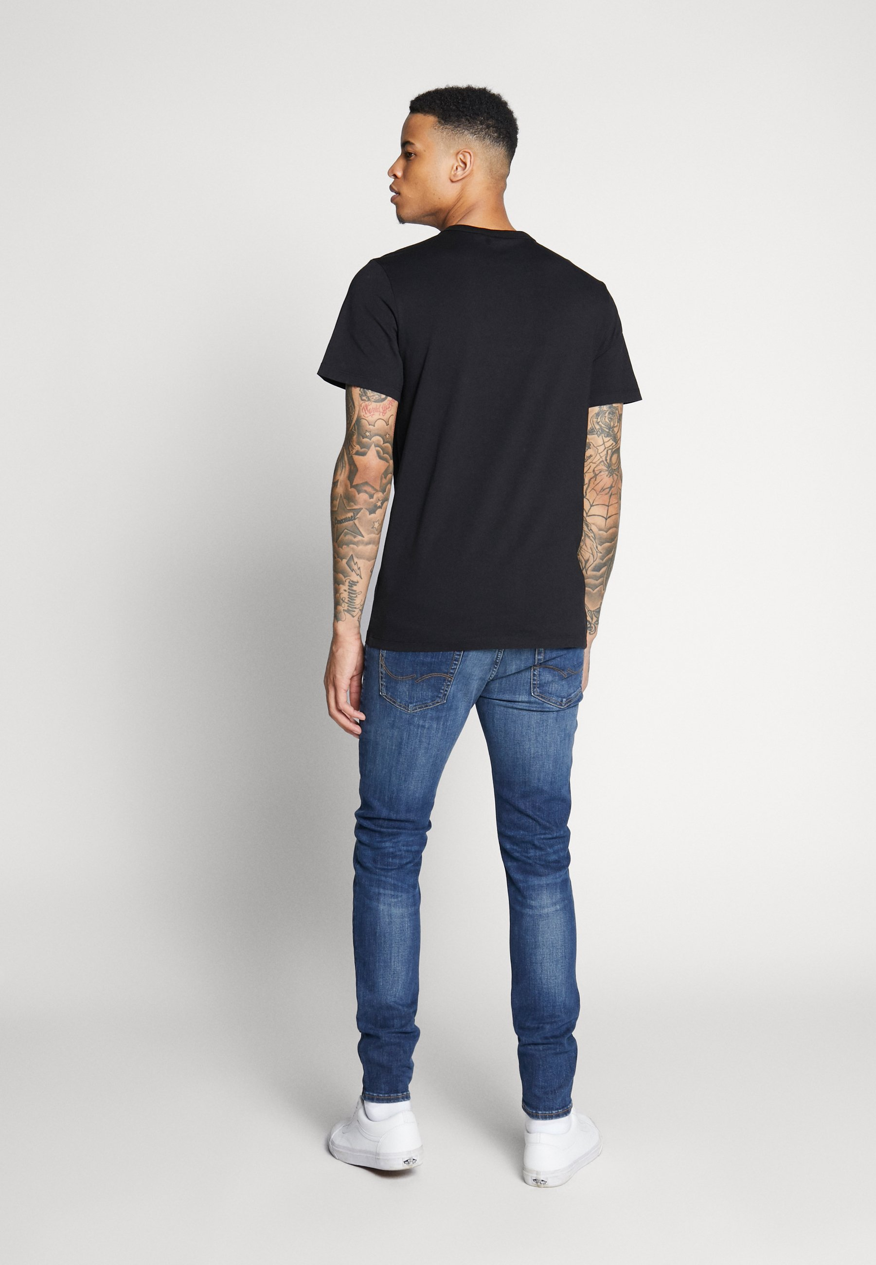 G-star Gsraw Ao Pocket R T Ss - T-shirt Imprimé Dark Black