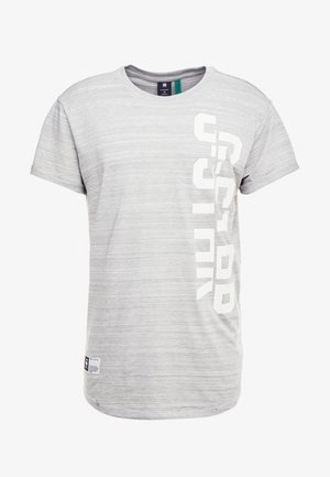 LASH GR - Print T-shirt - light grey
