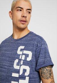 G-Star - LASH GR - Camiseta estampada - imperial blue - 3