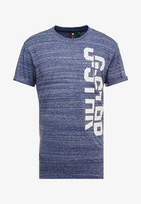 G-Star - LASH GR - Camiseta estampada - imperial blue - 4