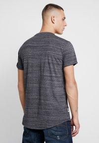 G-Star - LASH GR - T-shirt print - dark black - 2