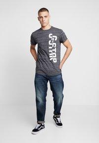 G-Star - LASH GR - T-shirt print - dark black - 1